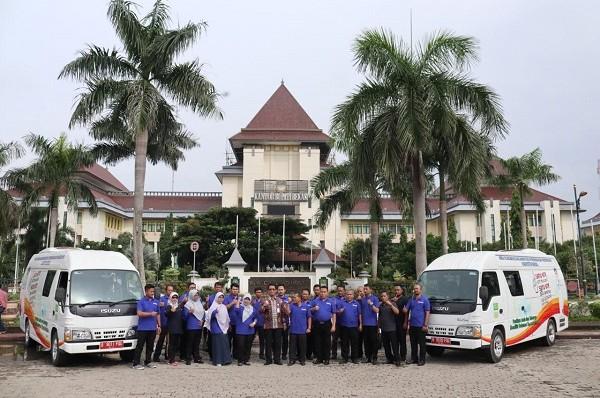 Kadis Dukcapil Kabupaten Bekasi Resmikan Pelayanan Jemput Bola