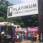 Masuk Kerja Nyogok, Warga Desa di Bekasi Demo PT. Platinum
