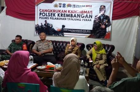 Koramil Wilayah Kodim Surabaya Gelar Cangkruk'an Serempak