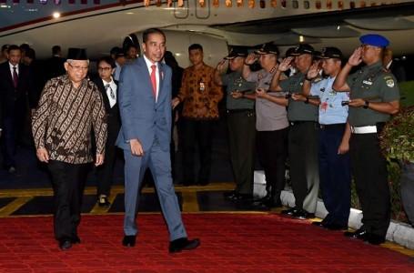 Presiden Jokowi Tiba di Indonesia Usai Lawatan ke Australia