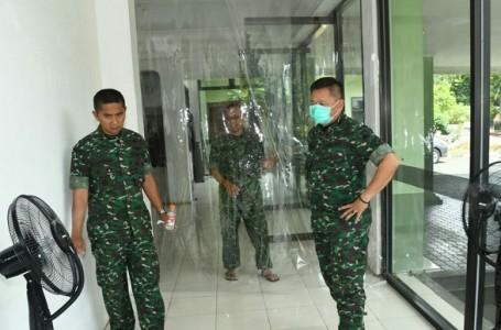 Pendam IV Siapkan Ruangan Disinfektan Untuk Anggota