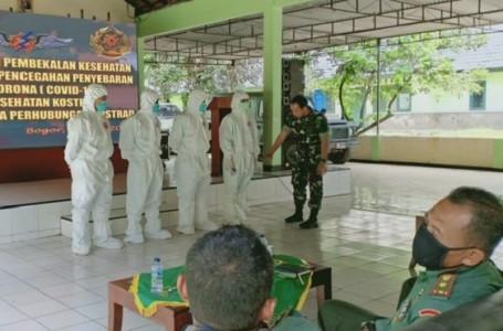 Latihan Menghadapi Wabah Virus Corona di Satuan Hubkostrad
