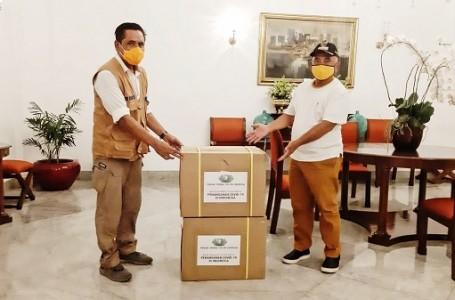 Walikota Bekasi Terima Bantuan Rapid Test Provinsi DKI Jakarta