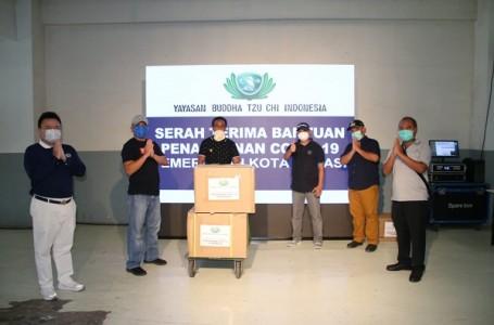 Pemkot Bekasi Terima Bantuan Yayasan Buddha Tsu Chi Indonesia