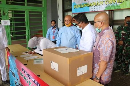 Pemkot Bekasi Kembali Terima Bantuan APD Dari PT. Hogy Indonesia