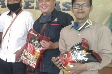 Corona, Fraksi Golkar DPRD Kota Bekasi Peduli Insan Pers