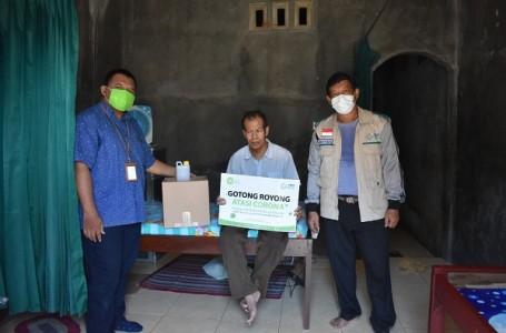 YBM PLN Pusmanpro dan IZI Kembali Berikan Sembako Para Tunanetra