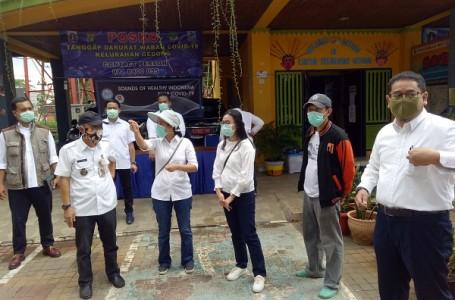 DPP HIMPIM Serahkan Bantuan APD dan Penyemprotan Disinfektan