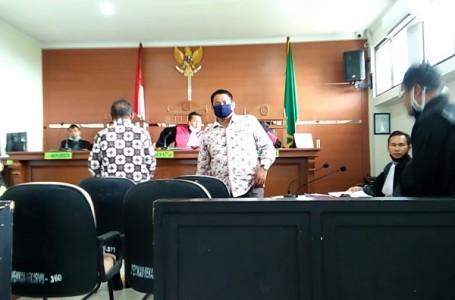 Terdakwa Agus Sofyan Mantan Kades Segara Makmur Sangkal Dakwaan JPU