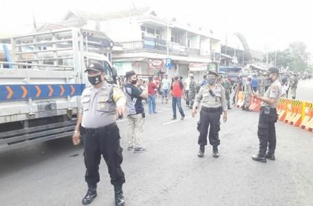 PSBB Tahap III, Pasar Surya Pegirian Berlakukan Protokol Kesehatan