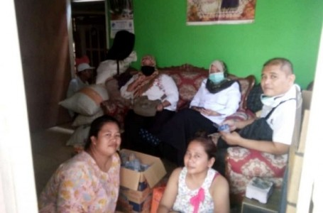 Dihebohkan Corona, Test Keluarga Abdul Rosyid Desa Karangraharja Negatif