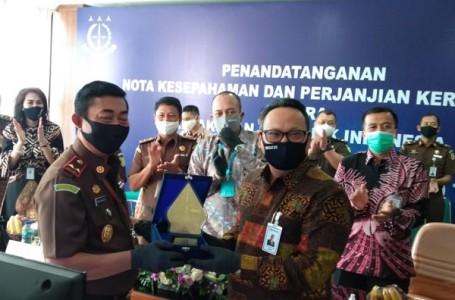 Perkuat Komitmen Tugas, Kejati Jateng dan BRI Semarang Gelar MoU