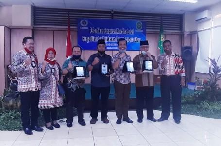 Ketua PWI Jaya Lantik Ketua Media Centre Pengadilan dan Kejaksaan Jakarta Utara