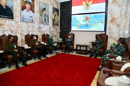 Panglima TNI Terima Audiensi Dirut BNI