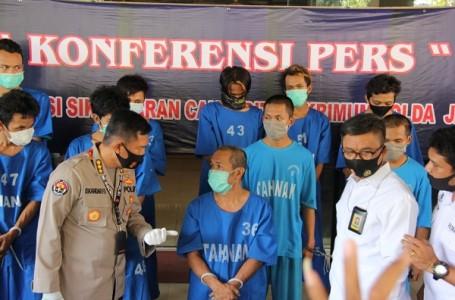 Operasi Sikat Candi, Polda Jateng Amankan 368 Pelaku Curanmor