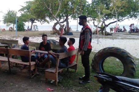 Polres Barbar Rajin Patroli Masyarakat Tentang Protokol Kesehatan