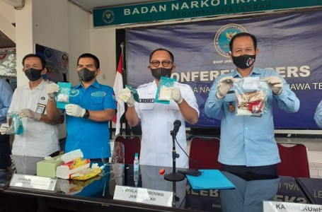 BNNP Jateng Ungkap Kasus Shabu di Solo Raya, Batang dan Banyumas
