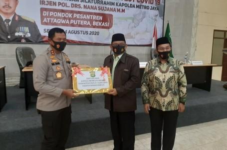 Kapolda Metro Jaya Kunjungi Ponpes Attaqwa di Babelan Bekasi