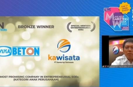 Kawisata Raih Penghargaan BUMN Marketeers Award 2020