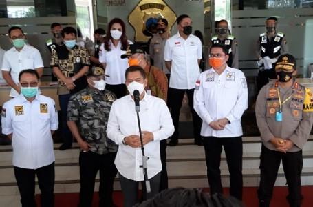 Komisi III DPR RI Kunker ke Polda Jateng Bagikan 36.000 Masker