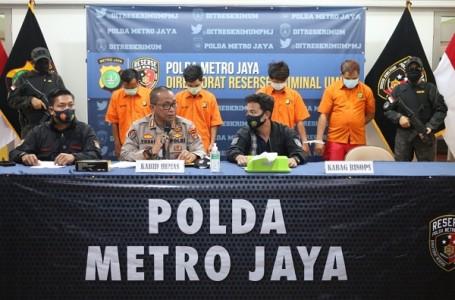 Resmob PMJ, Sikat Komplotan Rampok Minimarket Antar Provinsi