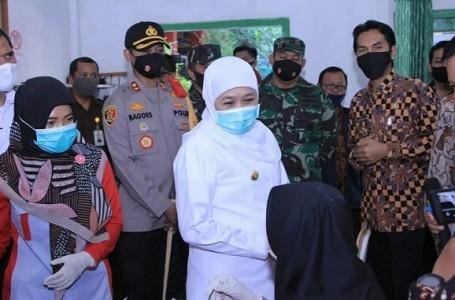 Gubenur Jawa Timur Bareng Kapolres Madiun Tinjau Mobil Listrik UMKM