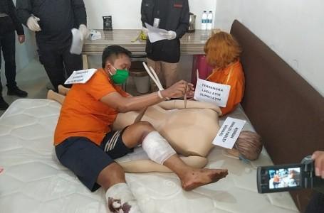 Pelaku Mutilasi Peragakan Pembantaian Diatas Kasur Apartemen