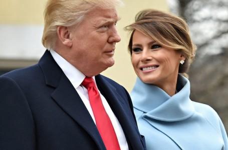 Presiden AS Donald Trump Bersama Istri Positif Covid-19