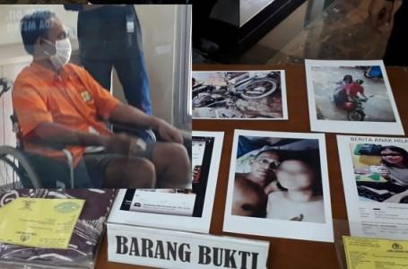 14 Kali Digarap, Polisi Bekuk Tukang Bakso Cabuli Anak Dibawah Umur