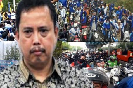 IPW Ingatkan Jokowi Jangan Biarkan Rakyat Berbenturan Dengan Polri