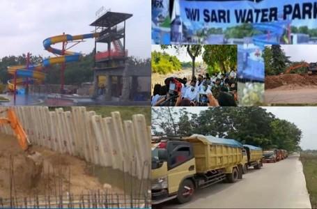 Sempat di Segel, Proyek Dwi Sari Water Park Bekasi Kembali Dilanjut