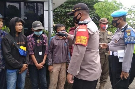 Naik Mobil Bak, 5 Pelajar Dari Bogor Diamankan Polsek Sukmajaya