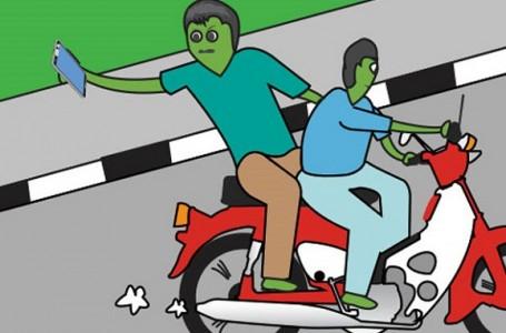 Buser Polres Bekasi Bekuk 2 Bandit Jalanan Perampas Ponsel