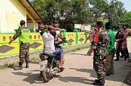 Upaya Penegakan Prokes AKB di Wilayah Larangan Brebes