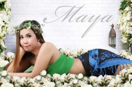 Jop Sepi, Maya Citra Personil 'Trio Kucing Garong' Jualan Rujak