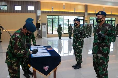 Sertijab Danlanud Sugiri Sukani dan Danlanud Pangeran M. Bunyamin