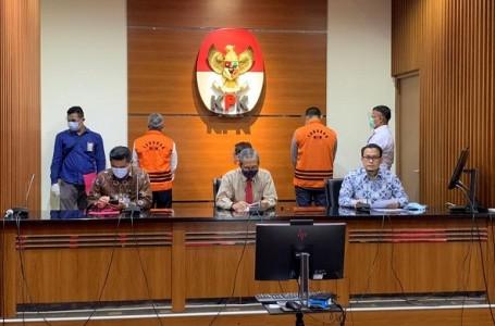 KPK Tahan dan Tetapkan Tiga Tersangka Dugaan Korupsi PT. DI