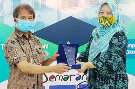 Dispar Kabupaten Bekasi Juara I di Invesment Trading Tourism Expo Semarang