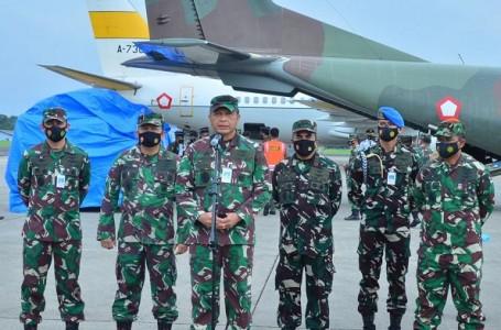 Percepat Bantuan TNI AUKirim 14,9 Ton ke Mamuju Sulbar dan Samarinda Kalsel