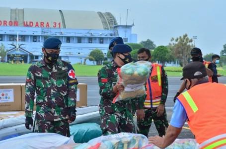 15 Tenaga Kesehatan TNI AU Diberangkatkan ke Sulbar