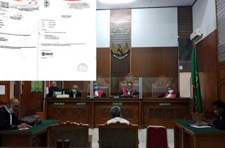 Surat Tugas Rekayasa Terungkap Dipersidangan Kasus PT. Indotruck Utama