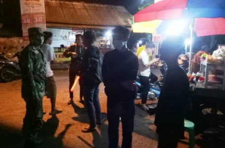 PPKM Skala Mikro Malam Hari Terus Diberlakukan di 17 Kecamatan di Brebes