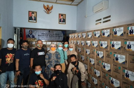 Peduli Balita dan Bumil, Anggota DPR RI Gandeng Wartawan Ponorogo
