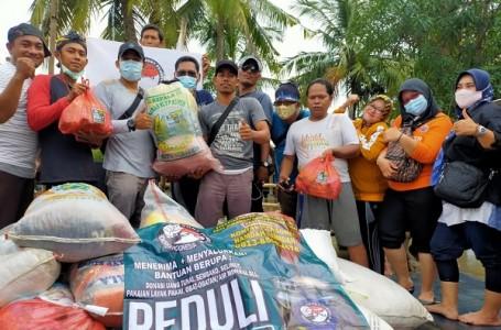 Peduli Sesama, FPHI Kabupaten Bekasi Salurkan Bantuan Banjir