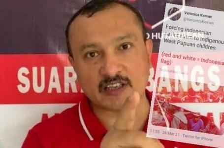 Ferdinand Hutahaean Kecam Pernyataan Veronica Koman di Medsos
