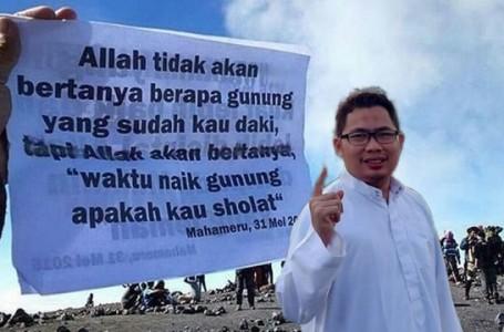 Andre Hariyanto: Melangkah Jauh Ringan, Melangkah Shalat Berat