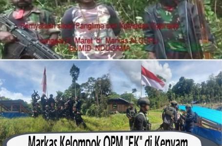 Markas OPM Satu Persatu Berhasil Dikuasai TNI-Polri