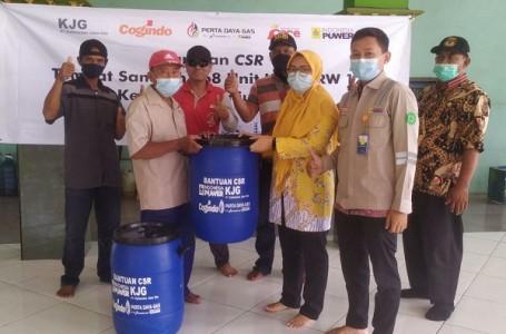 CSR Gabungan 168 Unit Tempat Sampah Untuk Warga Tanjung Mas