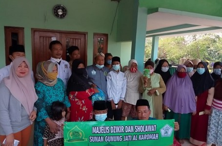 Jelang Ramadhan, Majelis Dzikir dan LPM Karangraharja Gelar Satunan