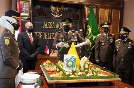 Peringati HBA Jaksa Agung Berpesan Jaga Marwah Institusi